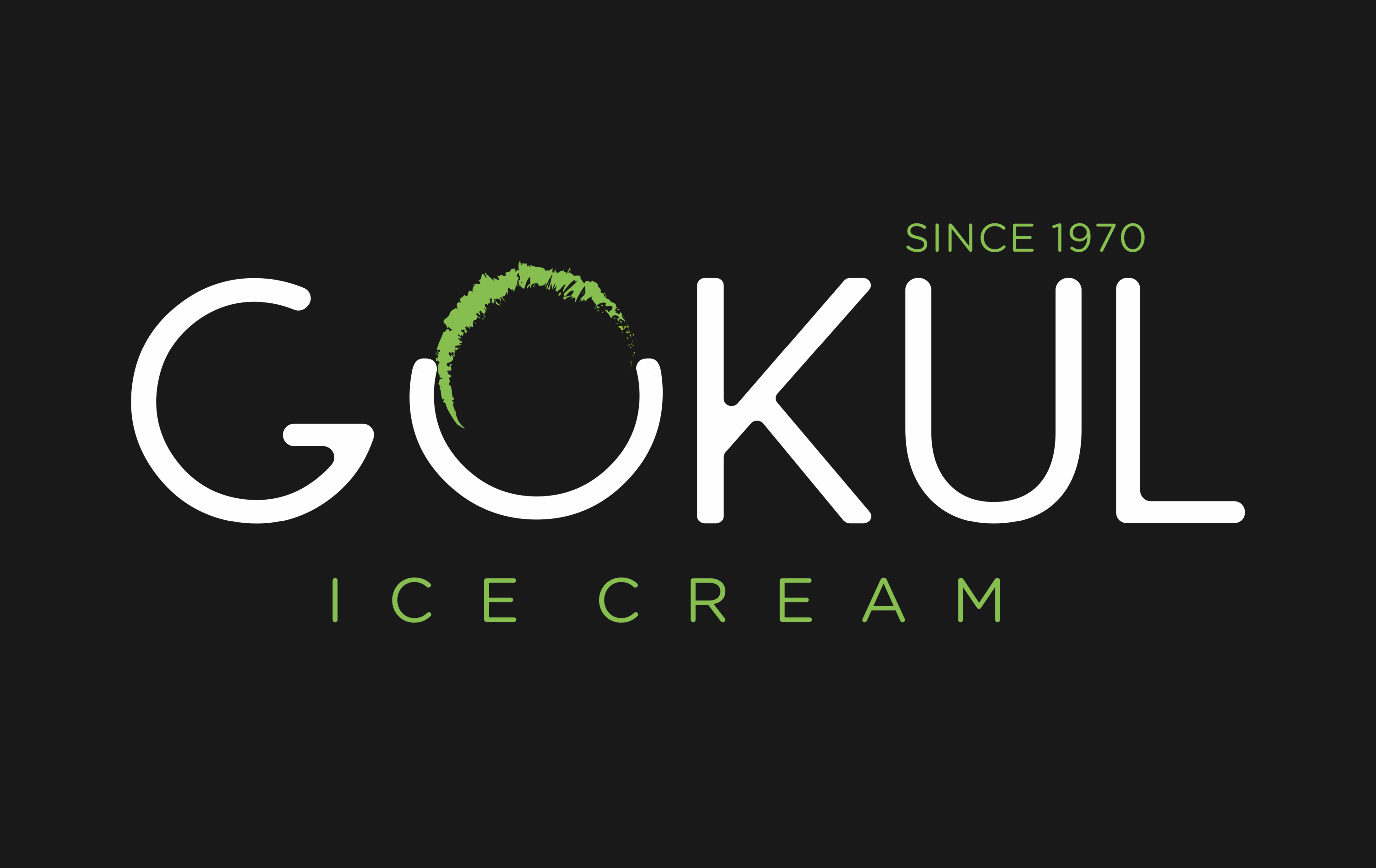 logo of gokul ice cream